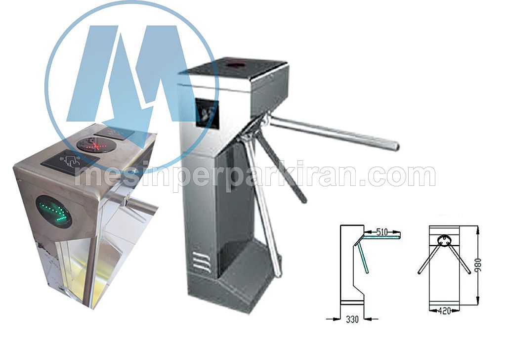 Tripod Turnstile Vertical